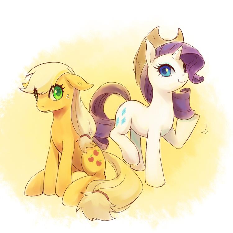 My little pony friendship is magic applejack cutie mark
