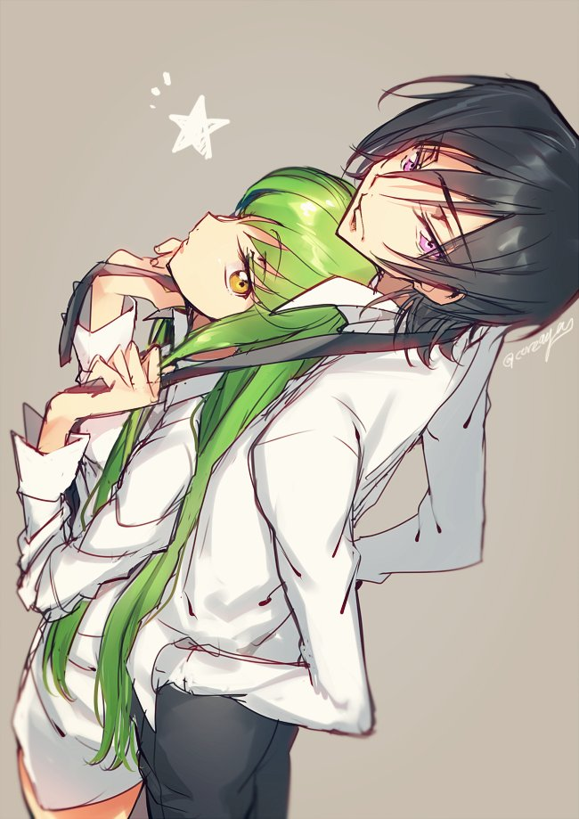 Professeur (2/2) __c_c_and_lelouch_lamperouge_code_geass_drawn_by_creayus__0496c5a27a2e65bf82446e383c974717