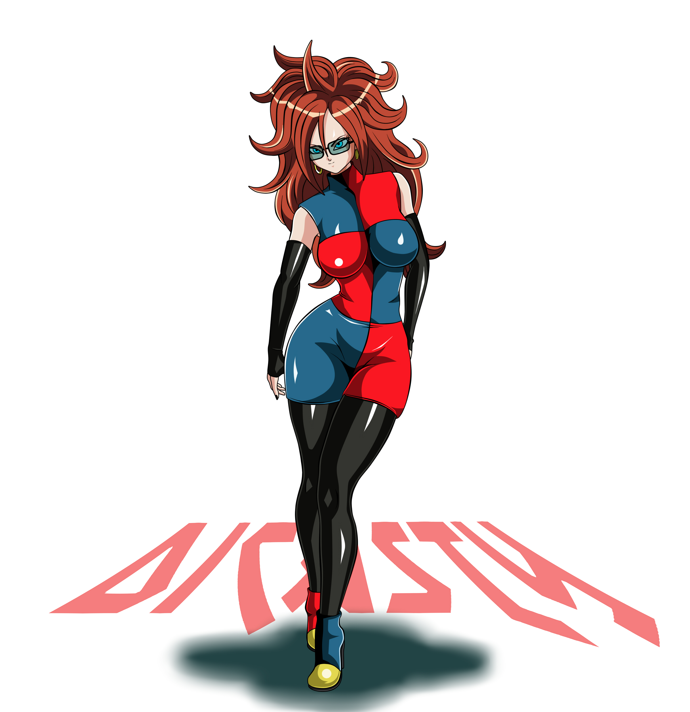 Dragon Ball Android 21: Android 21 (dragon Ball And Dragon Ball Fighterz) Drawn By