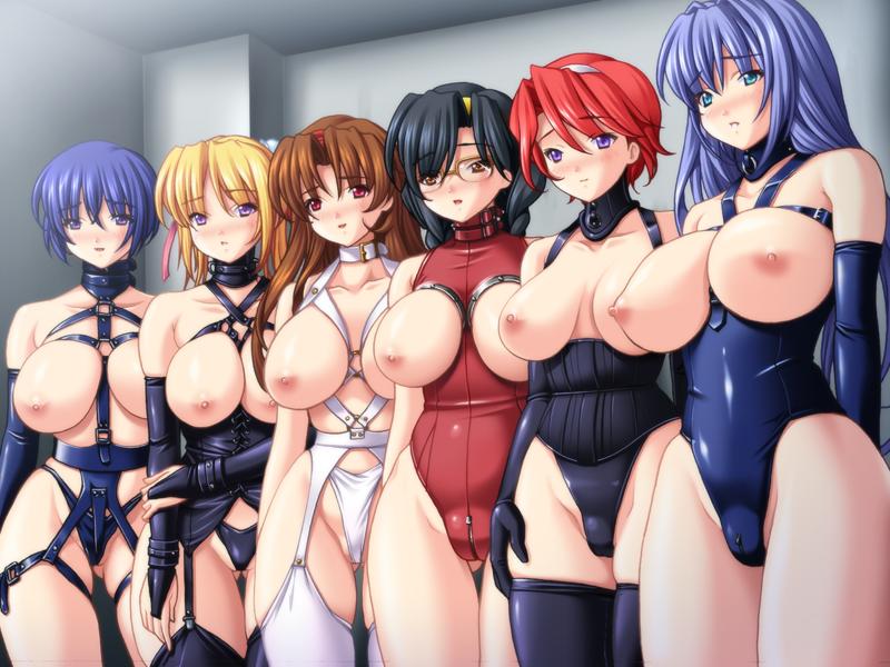 голые аниме девушки с большой грудью фото
