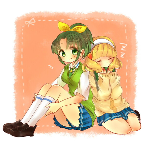kise yayoi and midorikawa nao (precure and smile precure!) drawn by goriel