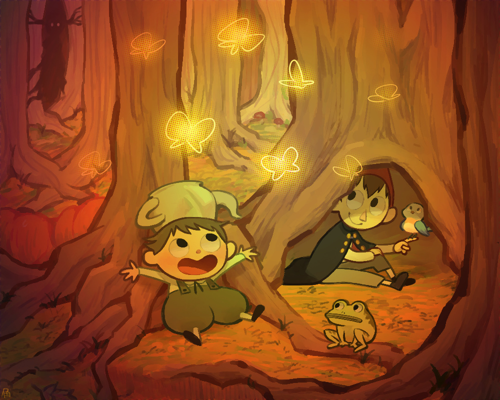 Wirt Gregory Beatrice And The Beast Over The Garden Wall Drawn By Haku Le Danbooru