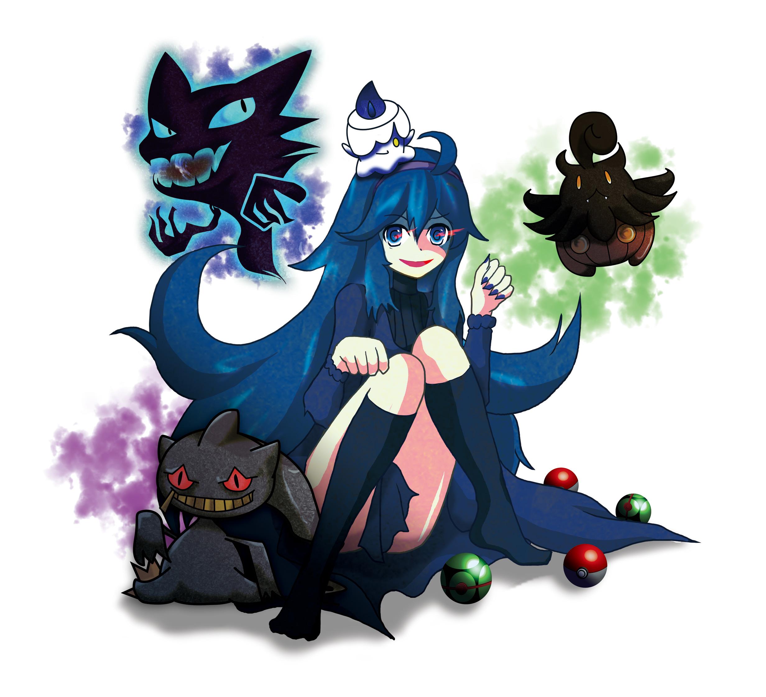 Banette haunter hex maniac litwick and pumpkaboo - Branette pokemon y ...
