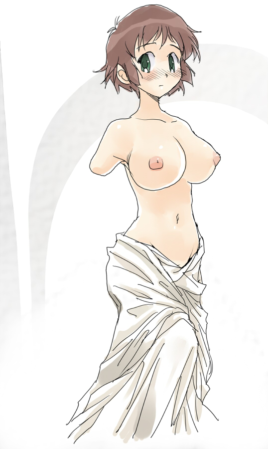 tezuka rin (katawa shoujo and venus de milo) drawn by pakrin