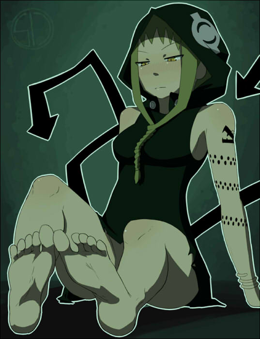 arachne soul eater naked hentai