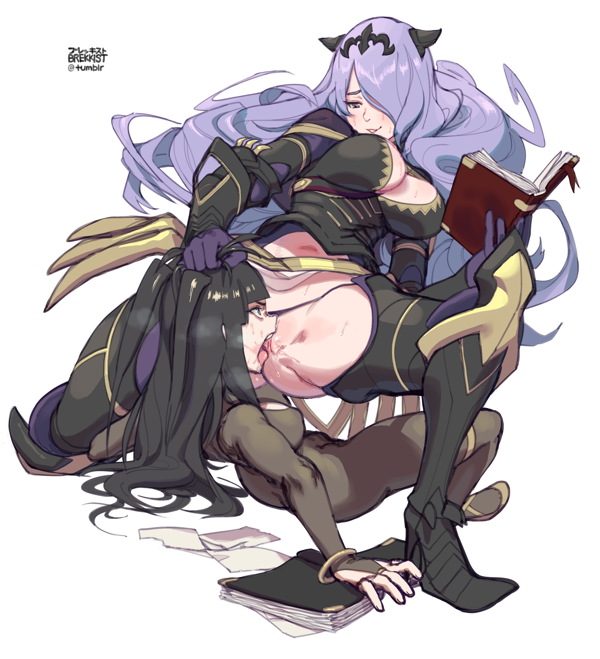 Fire Emblem Porn Pics with camilla and tharja (fire emblem, fire emblem: kakusei, and fire