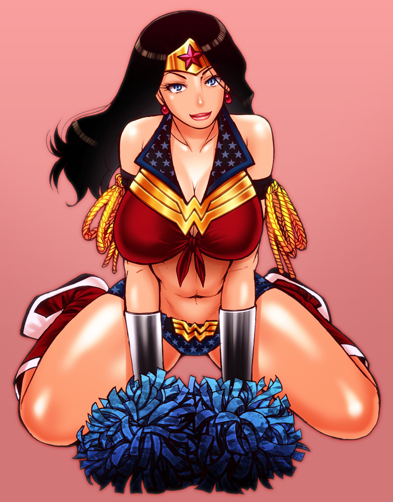 wonder woman (wonder woman (series) and etc) drawn by chiba toshirou