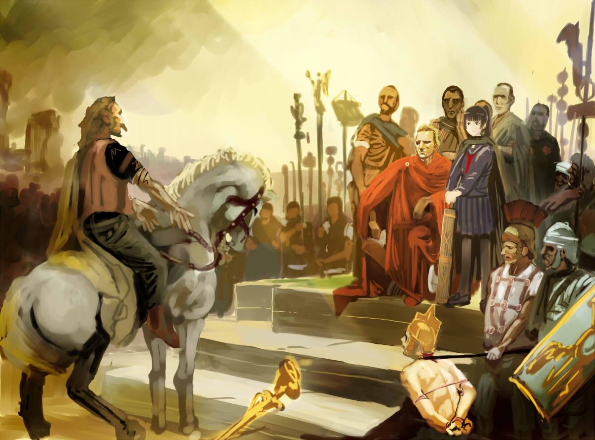 julius caesar and vercingetorix (real life and ...