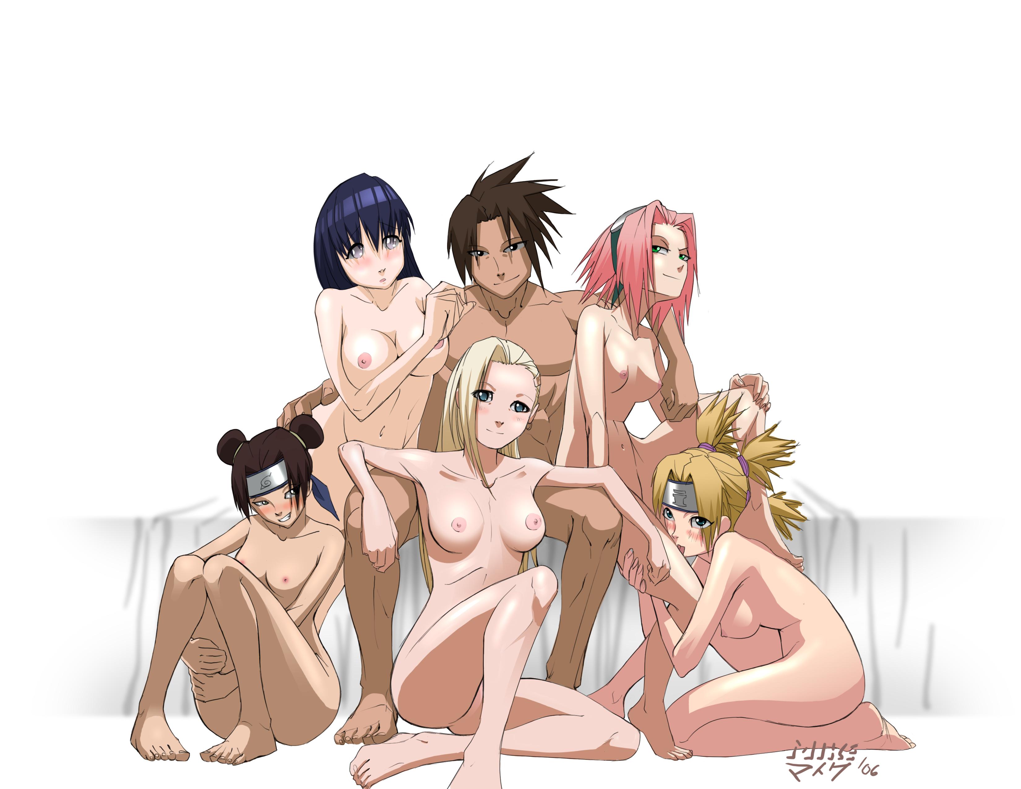 Порно аниме саске