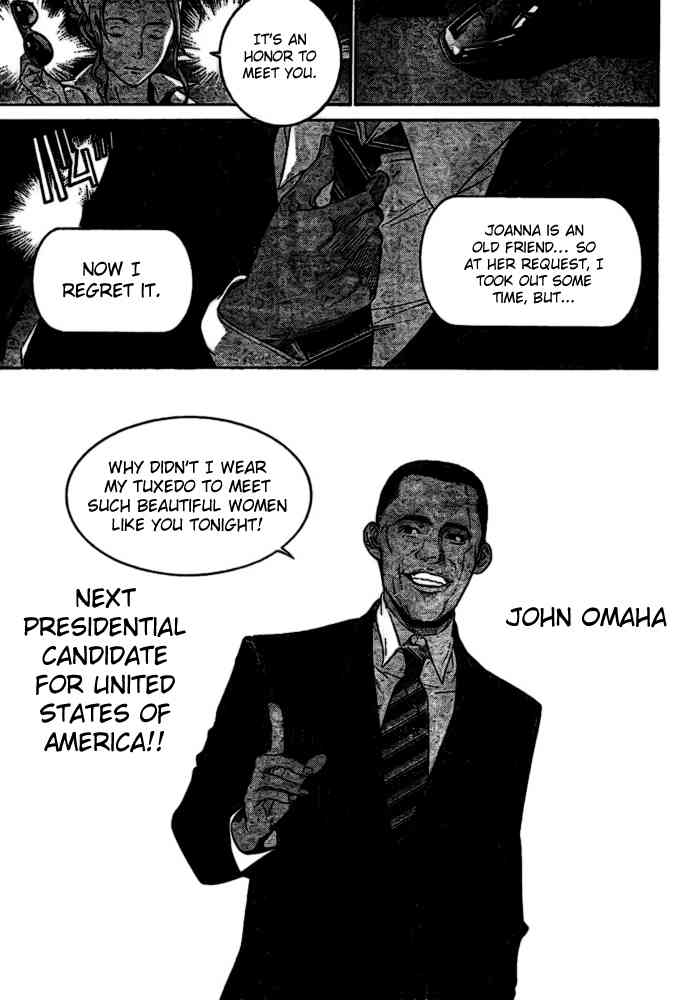 barack obama and john omaha (air gear and real life) drawn by oogure ito
