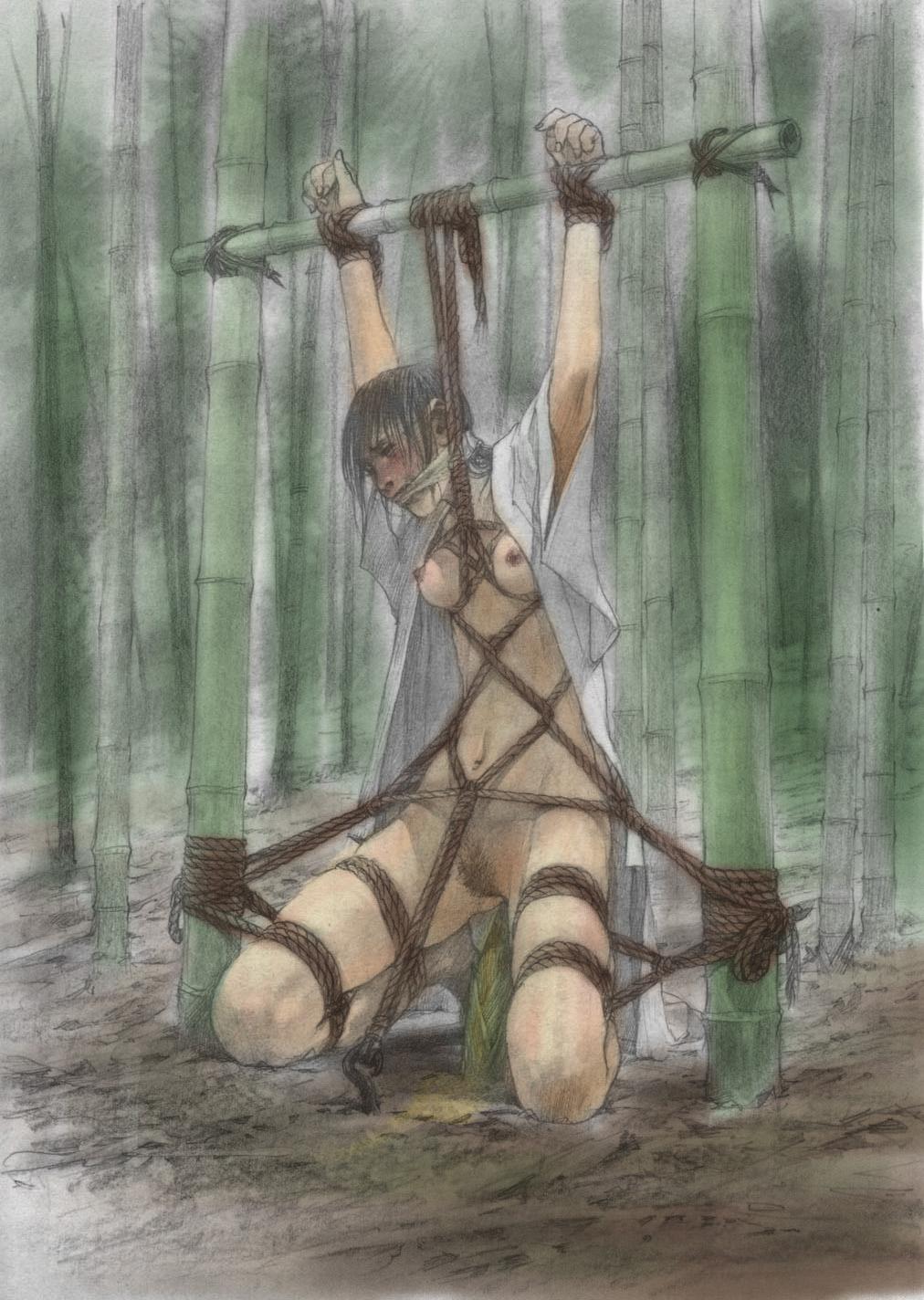 Пытки в лесу порно 28 фотография