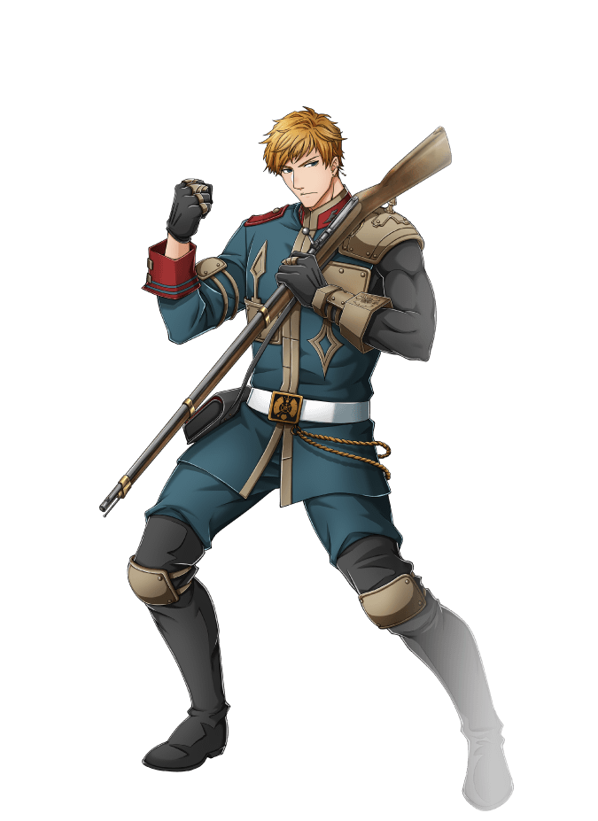 dreyse (senjuushi: the thousand noble musketeers) drawn by kinoshita sakura
