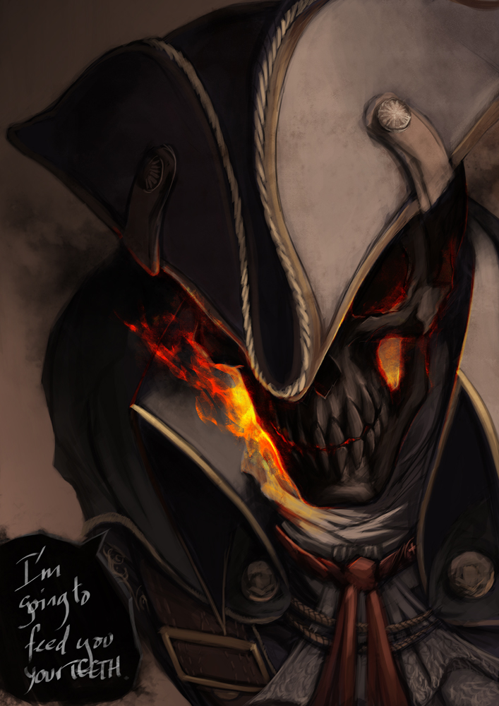 Ghost Rider And Haytham Kenway Marvel And 2 More Drawn By
