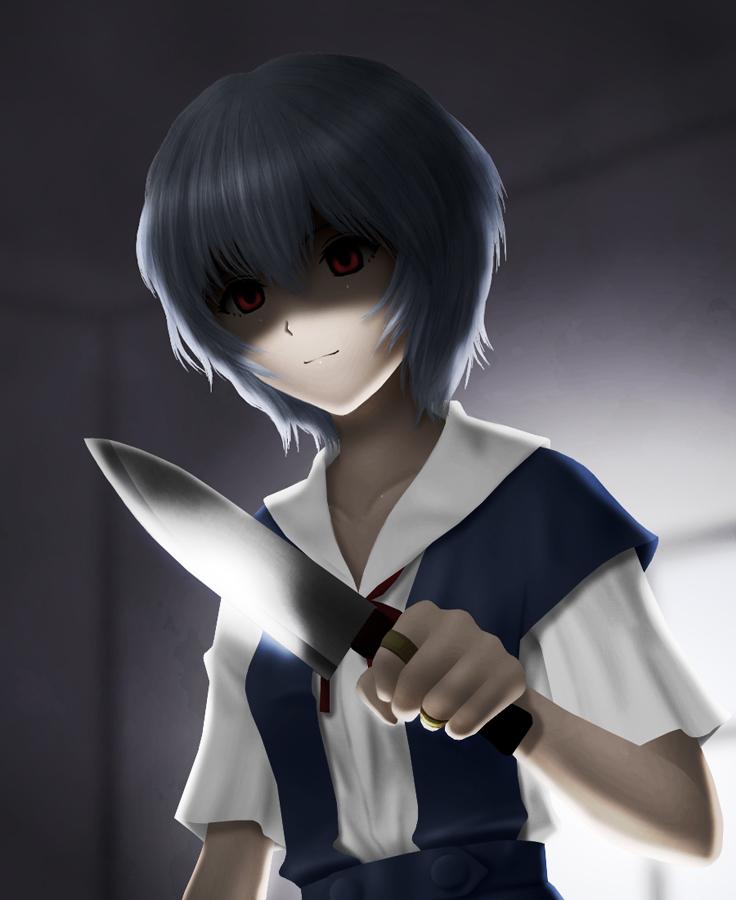 Neon Genesis Evangelion 2 0: Ayanami Rei (evangelion: 2.0 You Can (not) Advance, Neon
