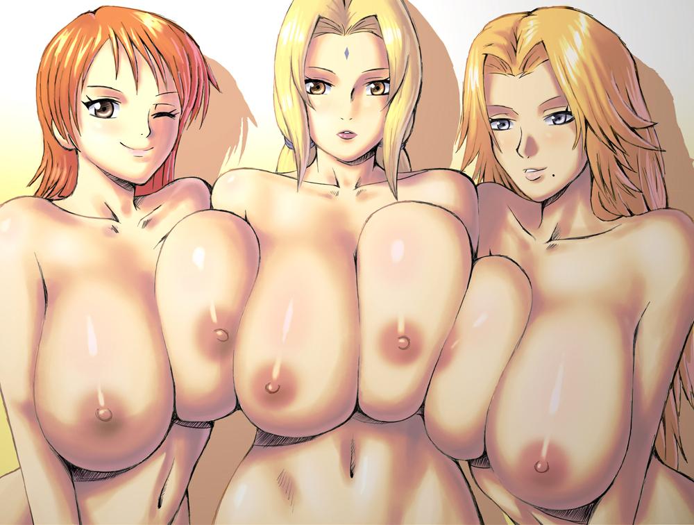 Tsunade and big tit anime porn porn pics & move