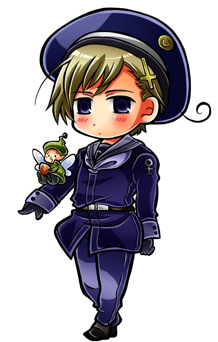 norway (axis powers hetalia) drawn by hajime kaniku