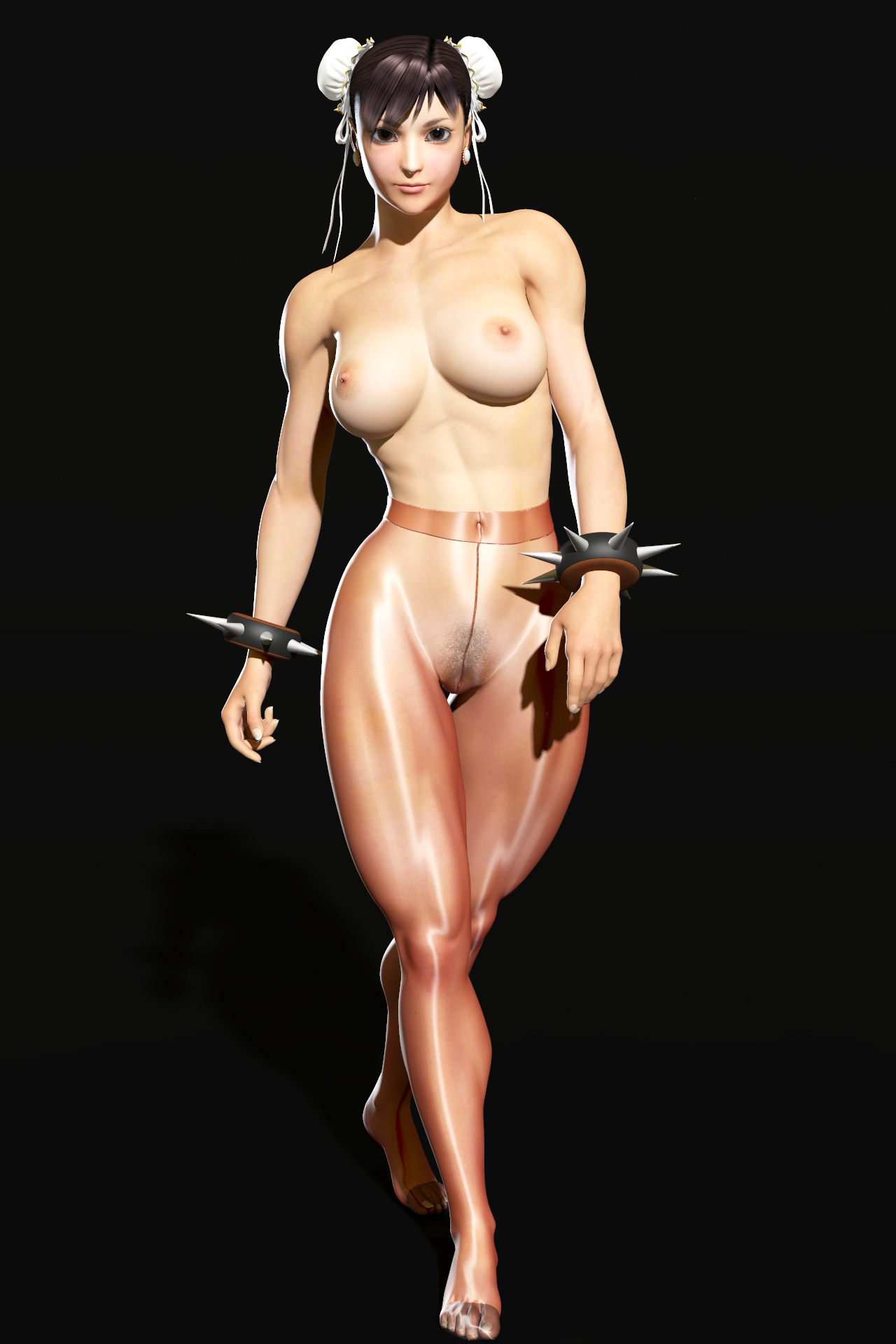 Naked Street Fighter Chun Li#3
