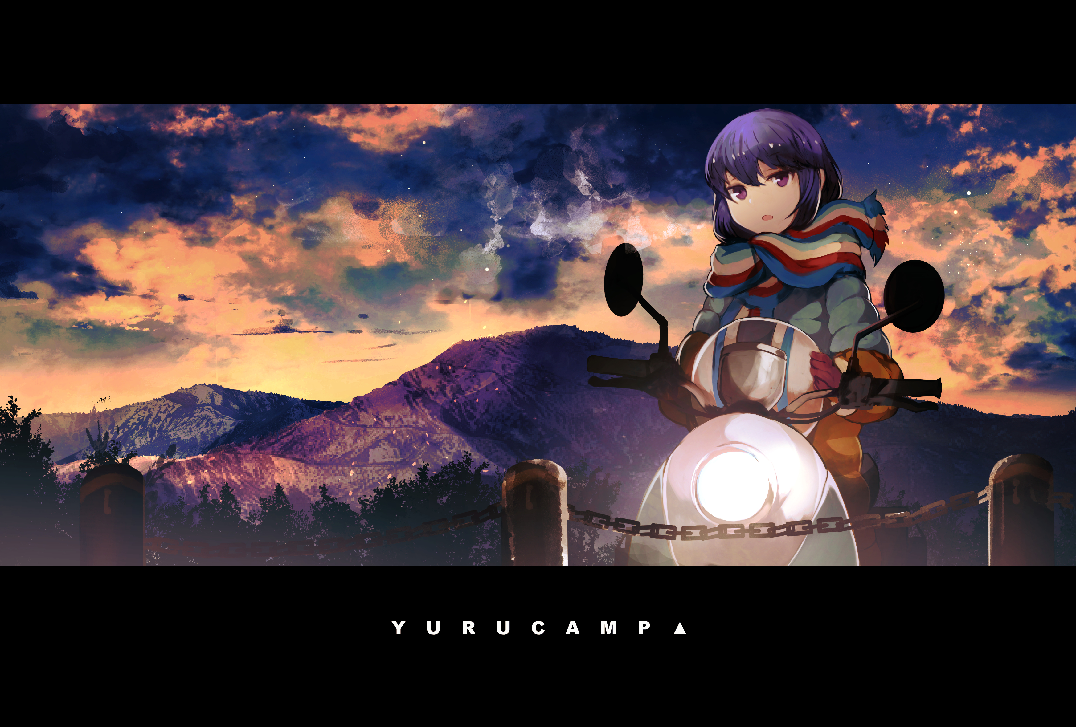 Shima Rin Yurucamp Drawn By Sanshouuo Danbooru