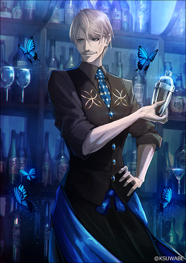 james moriarty (fate/grand order and etc) drawn by kei-suwabe