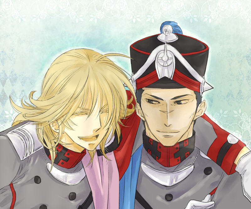 orang and sorush (last exile and last exile: gin'yoku no fam) drawn by origin12