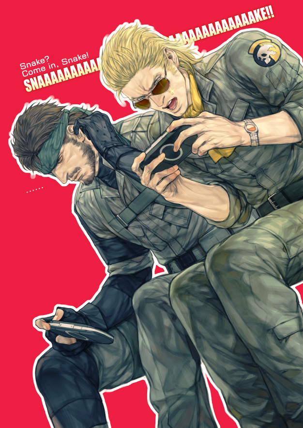 Big Boss And Kazuhira Miller Metal Gear And 1 More Drawn By Rae Offrecord Danbooru What took him so long?! big boss and kazuhira miller metal