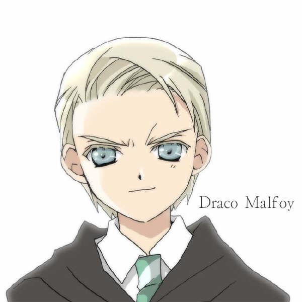 draco malfoy (harry potter) drawn by koge donbo