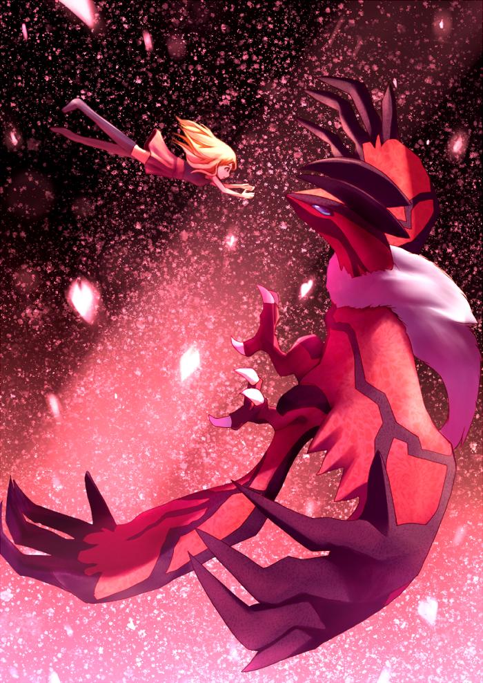 serena and yveltal pokemon pokemon game and pokemon