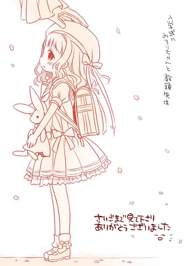 koucha shinshi and kusunoki midori (higanbana no saku yoru ni) drawn by sakurazawa izumi