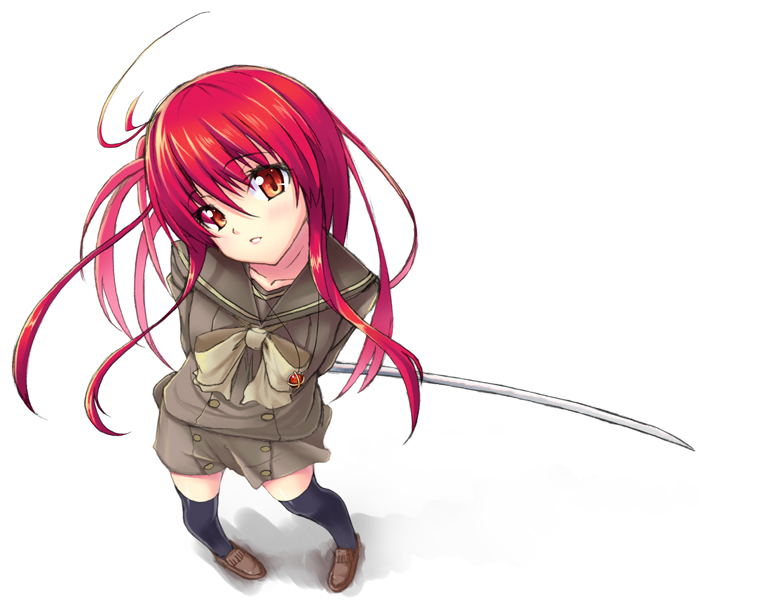 alastor and shana (shakugan no shana) drawn by gin (ginshari)