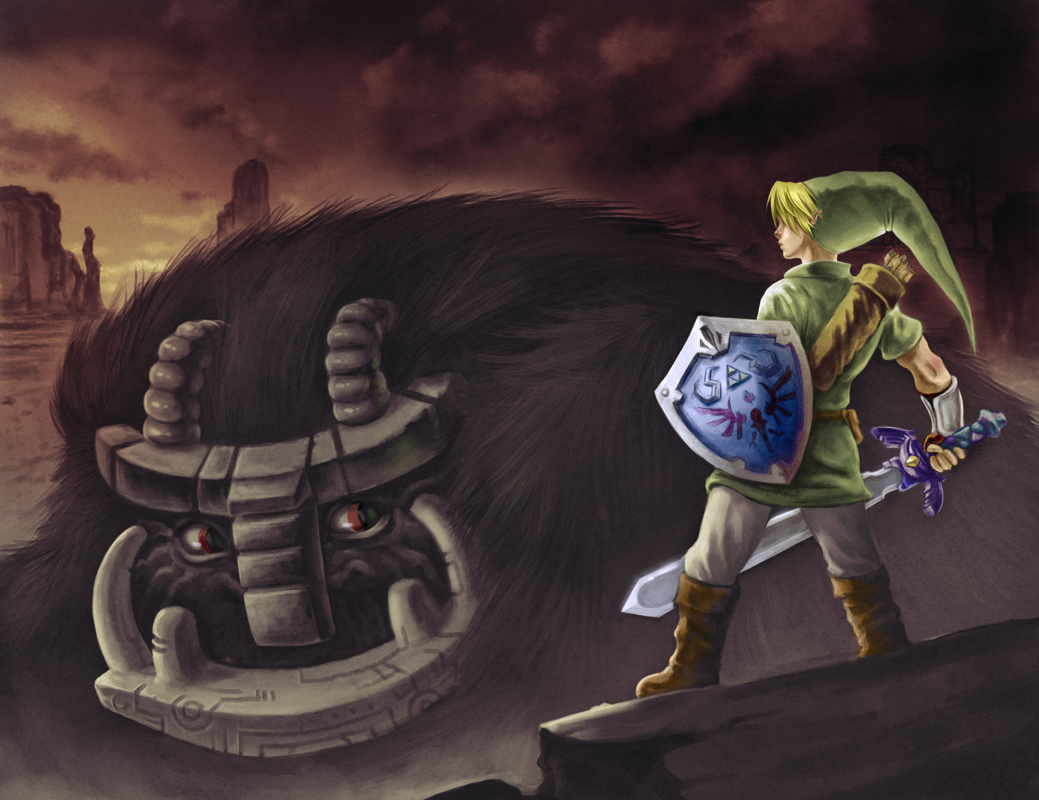 Image result for zelda shadow of the colossus