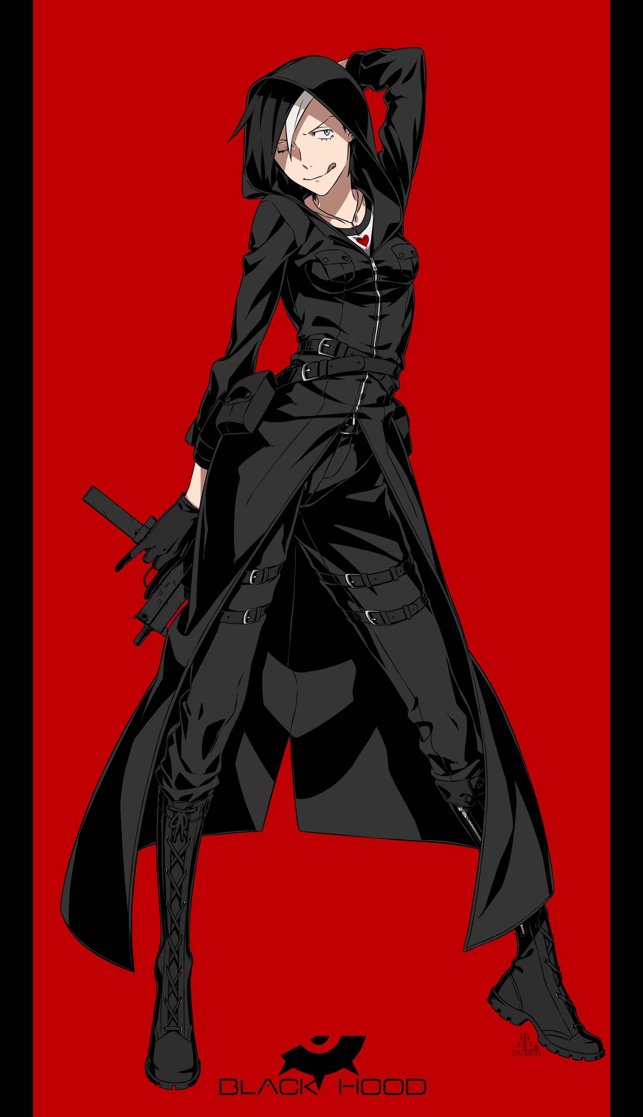 Inverse Ritsuko [Approved Soul Evo Human: Tier 3-5] __black_hood_original_drawn_by_kamezaemon__561d90dee2b442db2051bfd22464b56f
