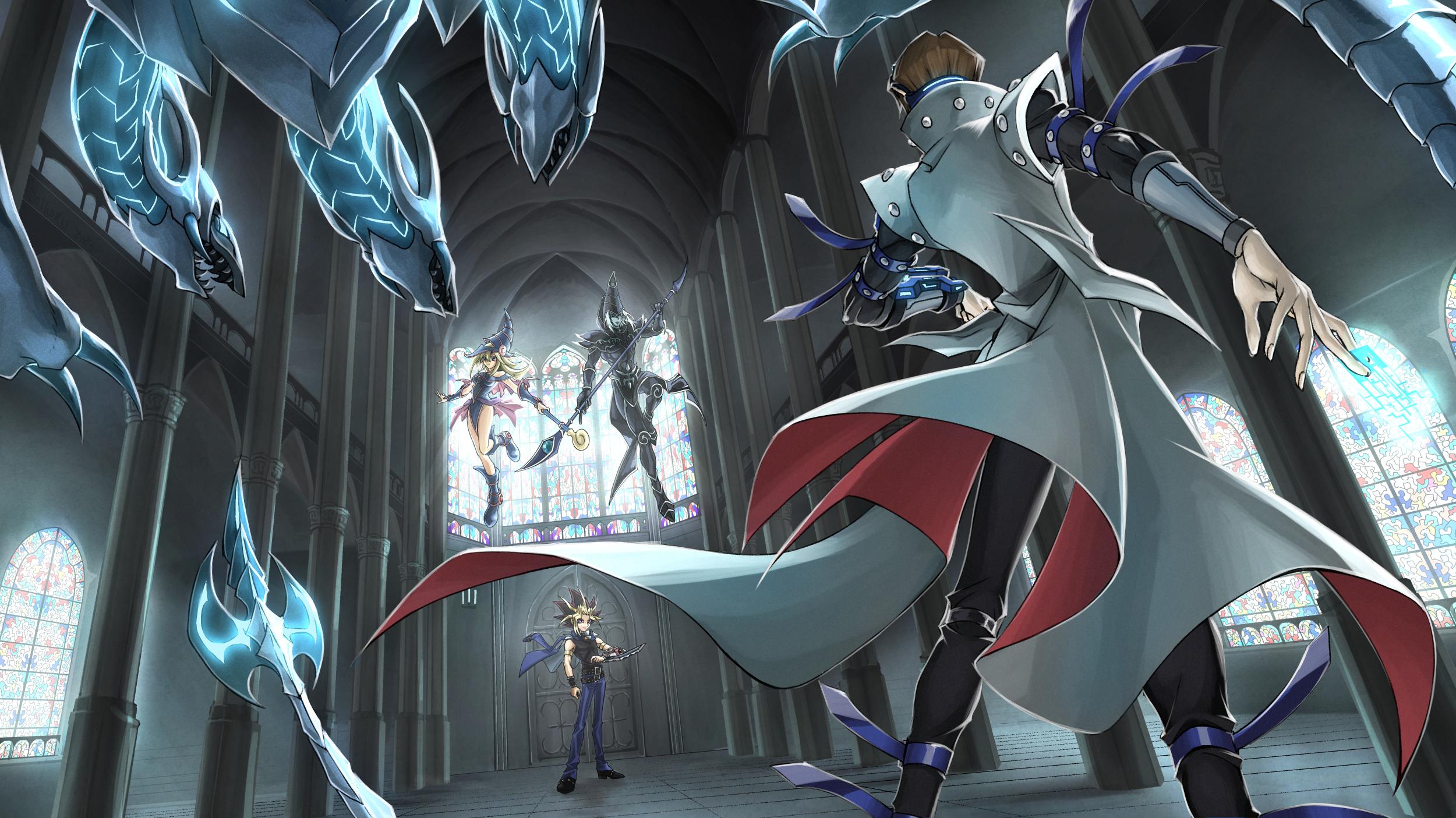 Dark Magician Girl Kaiba Seto Yami Yuugi Dark Magician And Neo