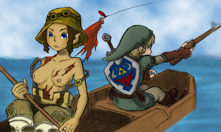 Zelda twilight princess girls naked 2