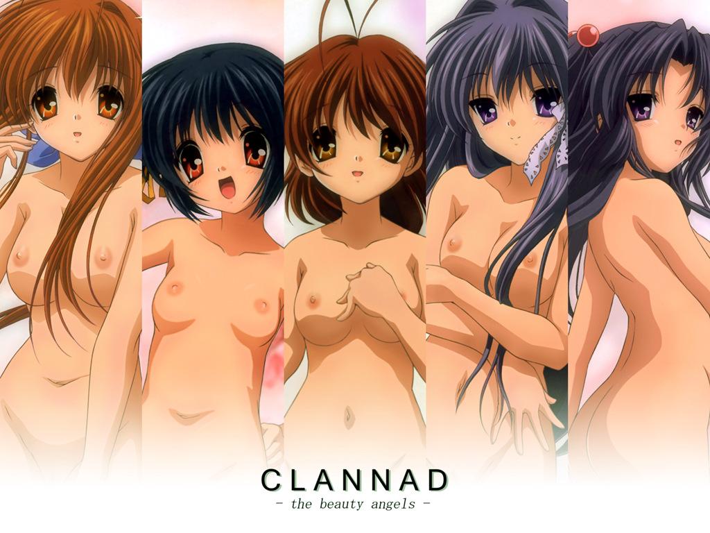 Clannad Porn Ele fujibayashi kyou, furukawa nagisa, furukawa sanae, ichinose kotomi