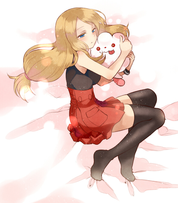 My Drawing of Serena (Pokemon) by IsaacNoelIsCutie on