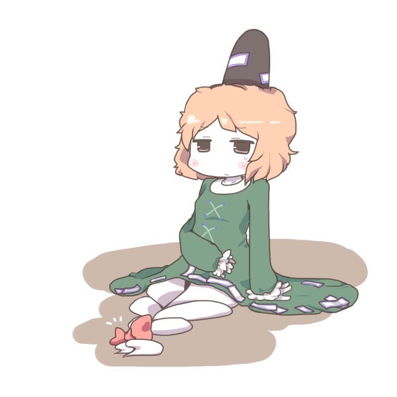 soga no tojiko (touhou) drawn by inishie