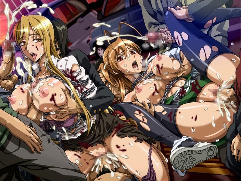 high school of the dead hentai № 165670