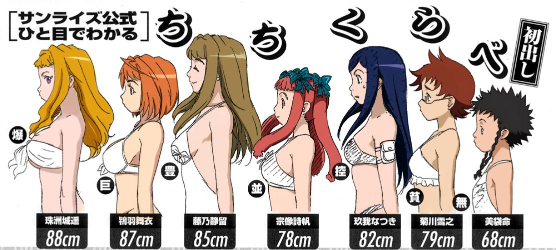 breast size comparison pictures. Breast Comparison