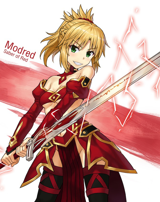 mordred and mordred (fate/apocrypha, fate/grand order, and fate (series)) drawn by npcpepper
