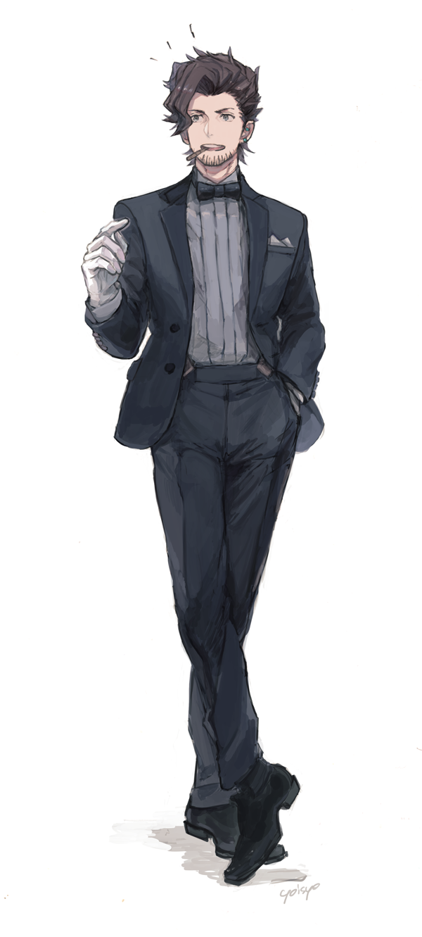 rackam (granblue fantasy) drawn by yoisho (yoisyoisyo)