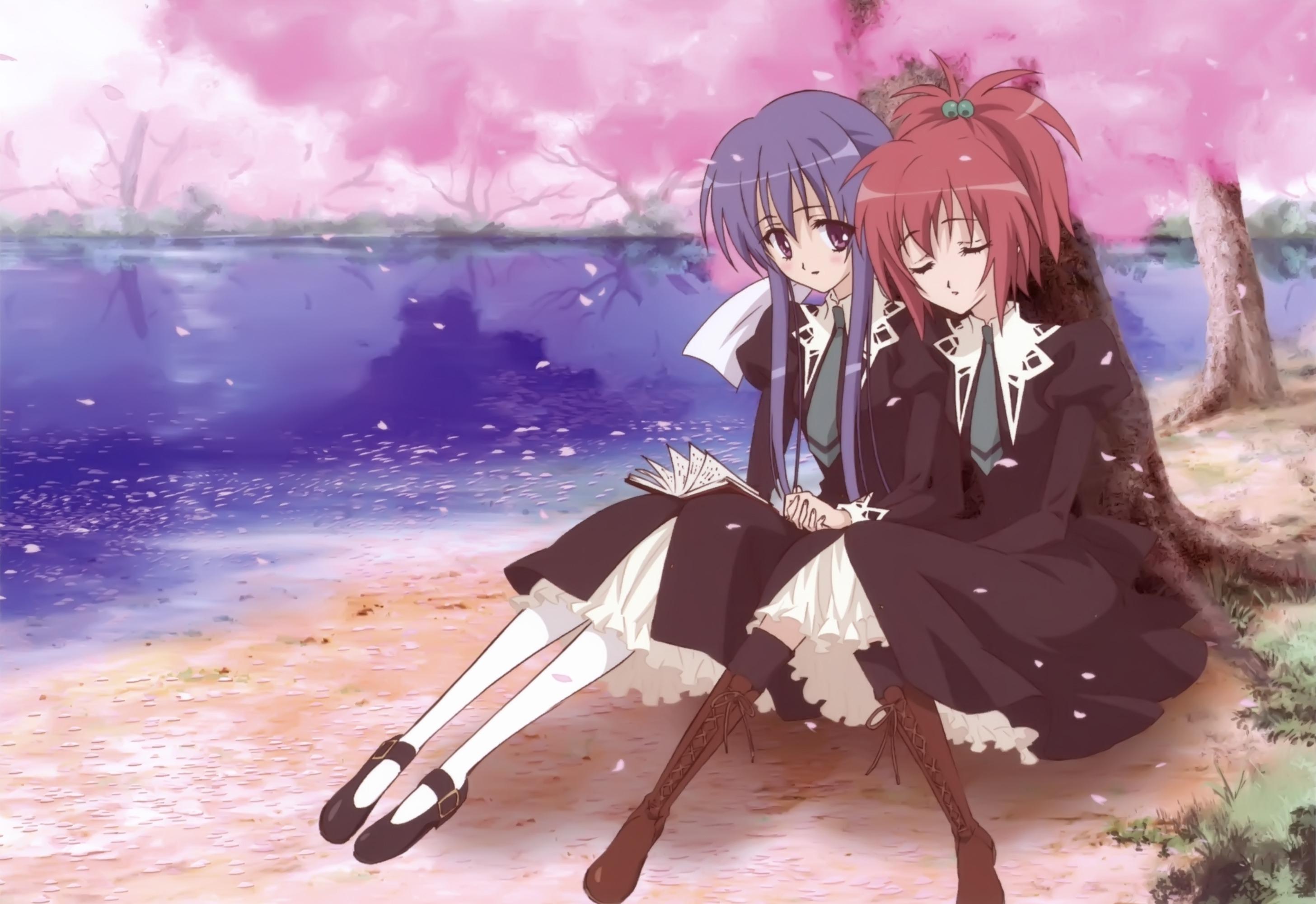 Aoi Nagisa And Suzumi Tamao Strawberry Panic Danbooru
