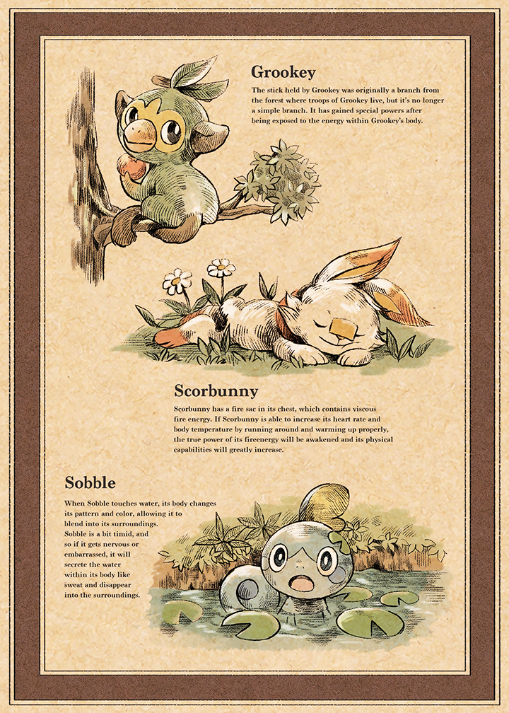 Scorbunny Sobble And Grookey Pokemon Drawn By Matsuri Matsuike Danbooru Pokédex info for grookey for pokémon sword & shield with grookey's stats, abilities, moves, and where to find it. sobble and grookey pokemon drawn