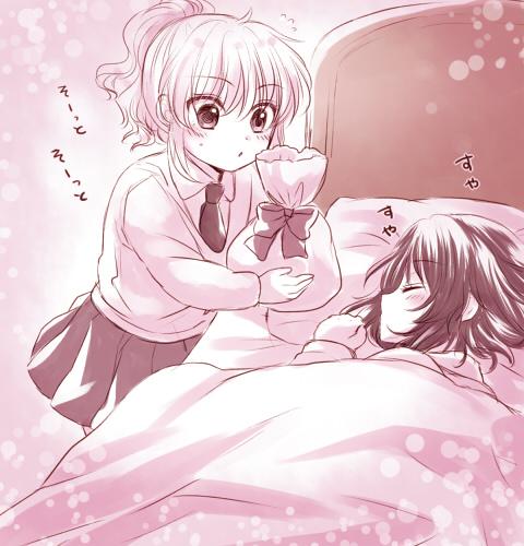 shannon and ushiromiya jessica (umineko no naku koro ni) drawn by maekawa suu