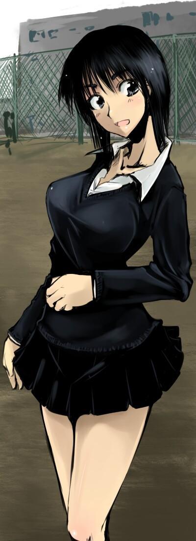suou mikoto school rumble by cosaten danbooru