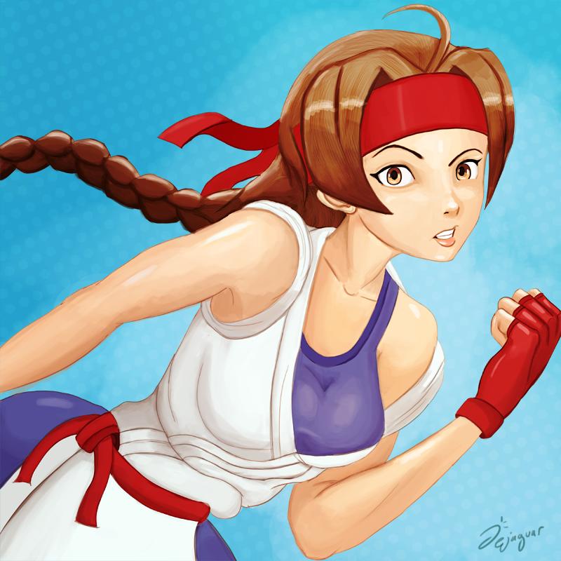 Download STL file Yuri Sakazaki - King of Fighters Fanart