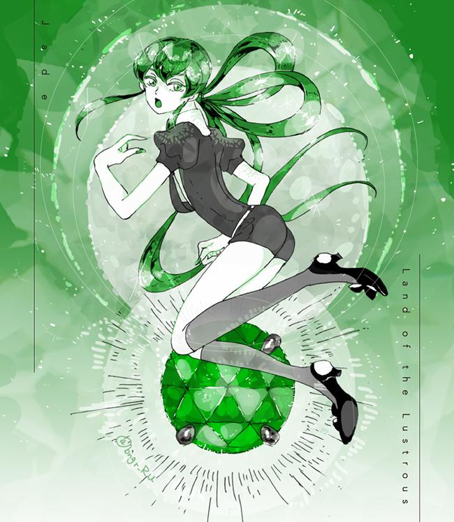 jade (houseki no kuni) drawn by eri na