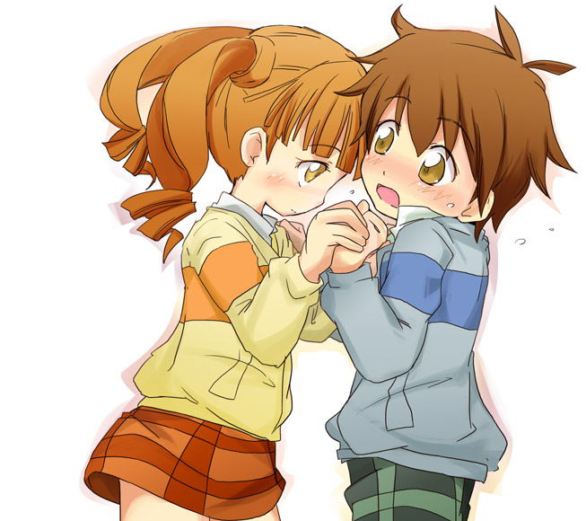 kogure kakeru and yumeno uta (onegai my melody) drawn by ...Onegai My Melody Uta And Kakeru