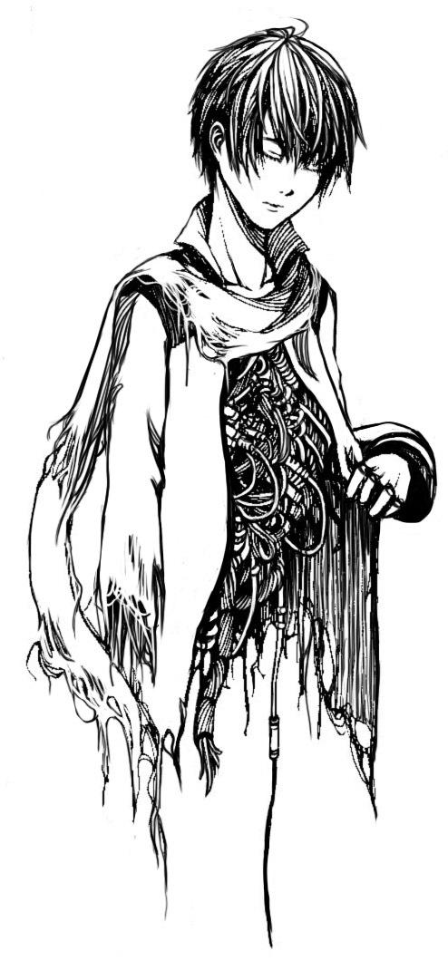 kaito (vocaloid) drawn by yokan