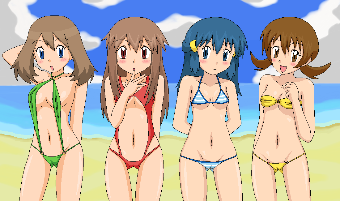 Think Naked girls from pokemon new girls join. was