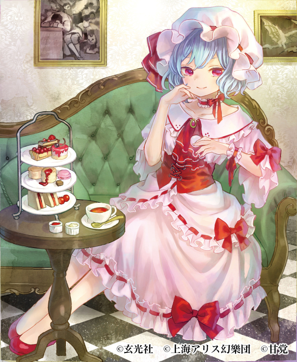 remilia scarlet (touhou) drawn by ama-tou